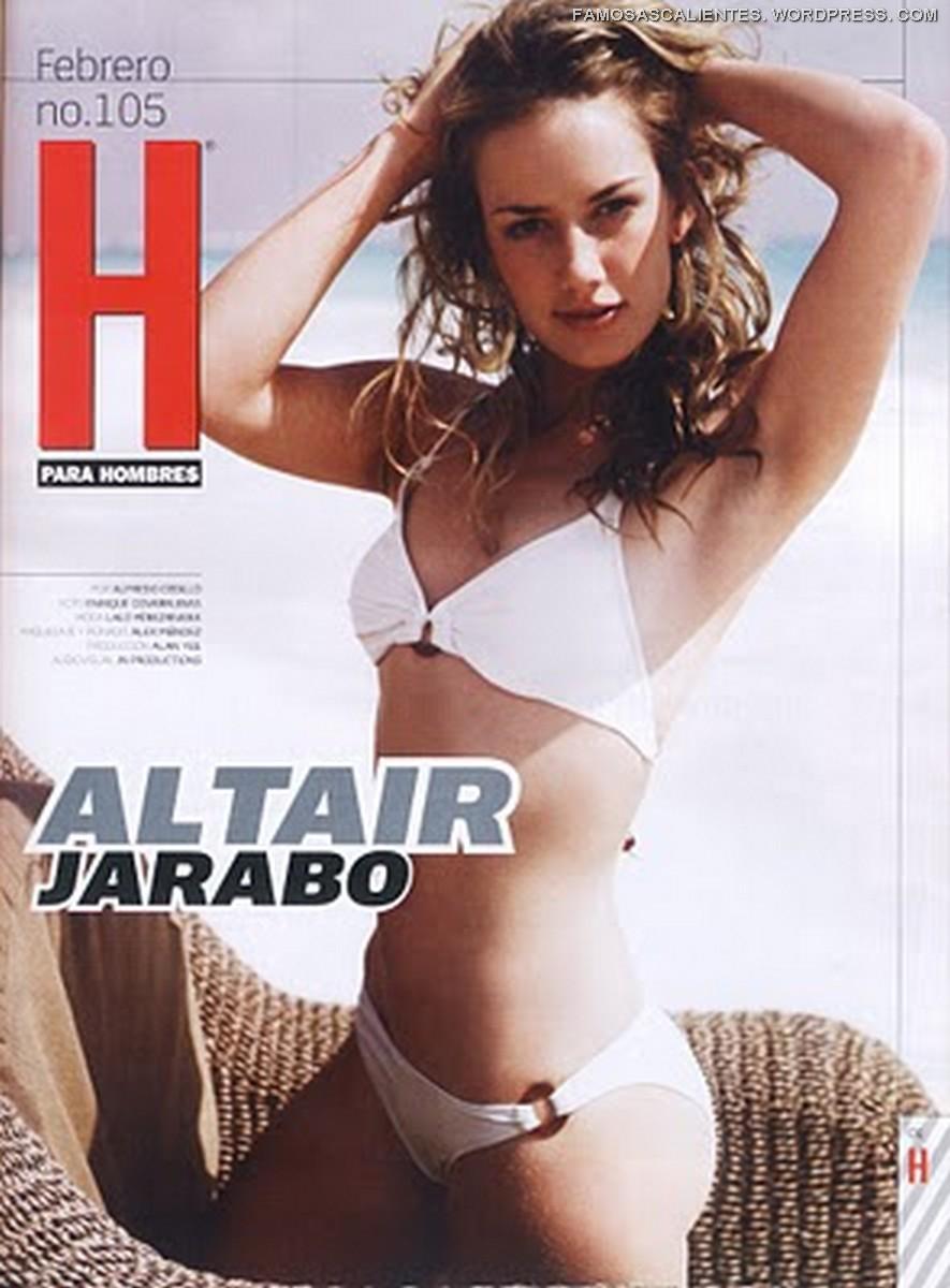 Altair Jarabo Revista H altair jarabo en h para hombres | famosas calientes