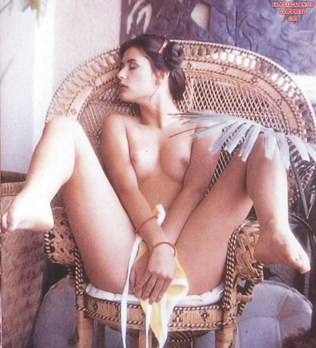 Demi Moore desnuda y embarazada